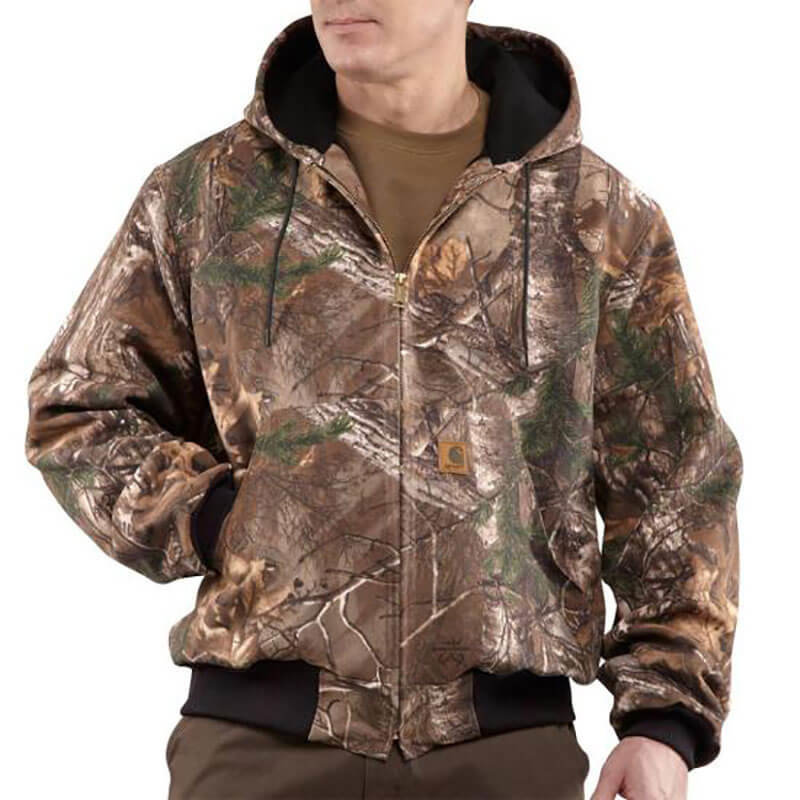 Carhartt Camouflage Active Jacket - Thermal Lined - J220 - CLOSEOUT