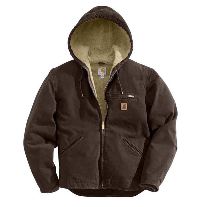 Carhartt Men's Sandstone Sierra Jacket - J141- CLOSEOUT