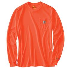 100494 - High-Visibility Force Color Enhanced Long-Sleeve T-Shirt