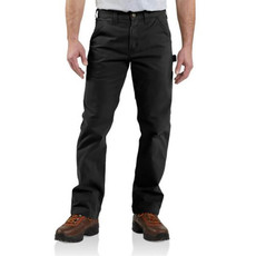 Carhartt B324-BLK - Relaxed Fit Twill Utility Work Pant