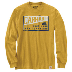 Carhartt 105059 - Relaxed Fit Heavyweight Long-Sleeve Craftsman Graphic