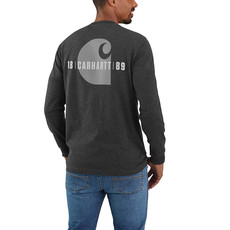 Carhartt 105054 - Relaxed Fit Heavyweight Long-Sleeve C Graphic T-Shirt