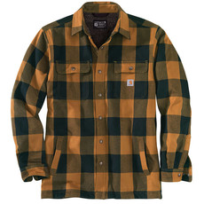 Carhartt 104911 - Relaxed Fit Heavyweight Flannel Sherpa-Lined Shirt Jac
