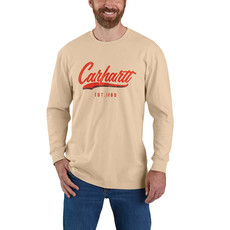 Carhartt 104890 - Loose Fit Heavyweight Long-Sleeve Hand-Painted Graphic