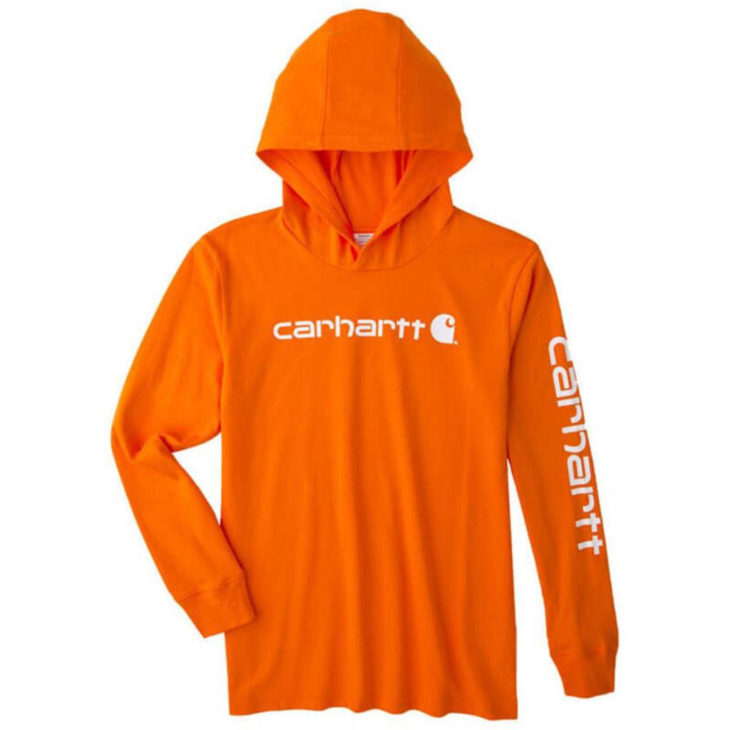 Carhartt CA6192 - Knit Long-Sleeve Hooded Graphic T-Shirt