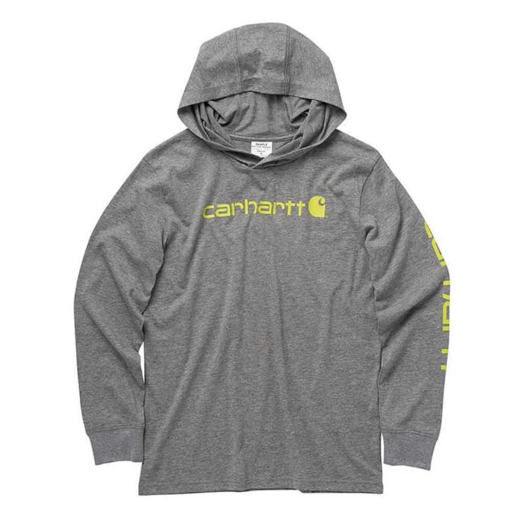 Carhartt CA6230 - Knit Long-Sleeve Hooded Graphic T-Shirt