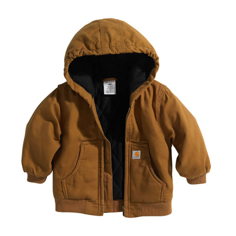 Carhartt CP8430 - Canvas Insulated Hooded Active Jacket