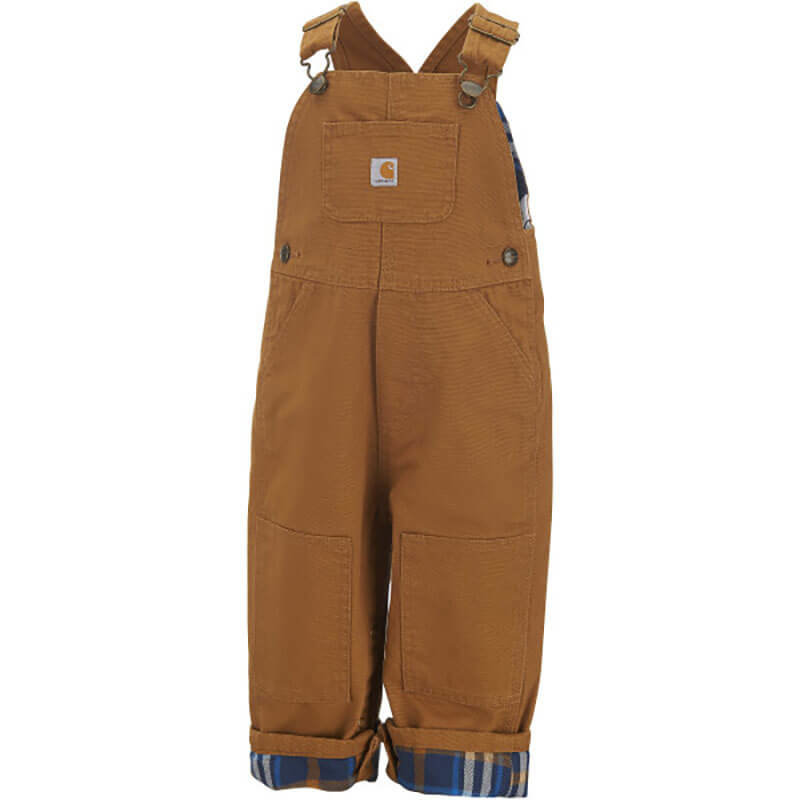 Carhartt CM8645 - Loose Fit Canvas Flannel Lined Bib Overall