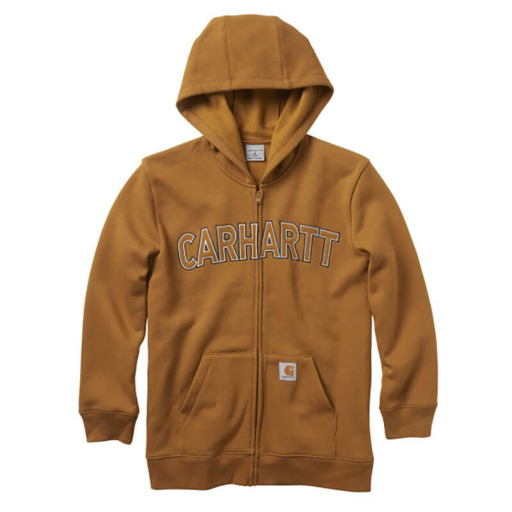 Carhartt CP8509 - Logo Fleece Full Zip Sweatshirt
