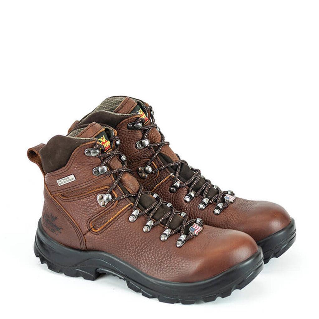 "Thorogood 804-3266 - OMNI Series 6"" Brown Safety Toe Boot"