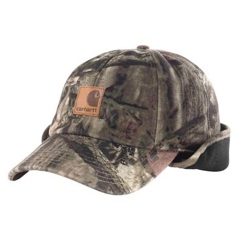 Carhartt Carhartt 101477 Hat Camo Ear Flap Cap Realtree Hunting Hat