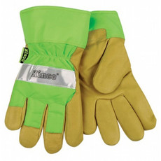 Kinco KINCO 1939 High Visibility Lined Pigskin Safety Cuff Gloves