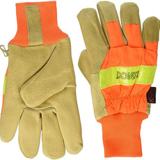 Kinco Kinco 1938 High Visibility Lined Pigskin Safety Cuff Gloves