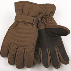 Kinco Kinco 1170 Brown Thermal Lined Waterproof Duck Fabric Snow Ski Gloves