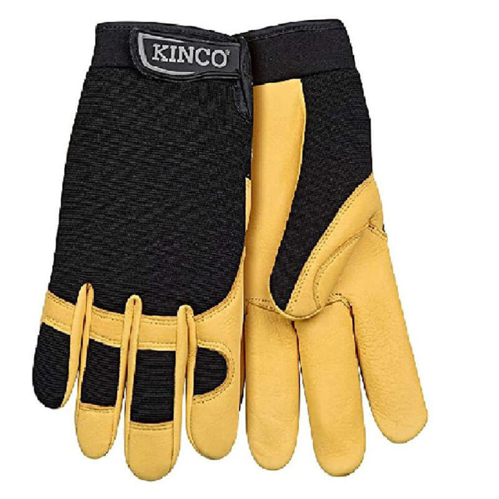 Kinco KINCOPRO 101 GRAIN DEERSKIN & SYNTHETIC HYBRID WITH PULL-STRAP