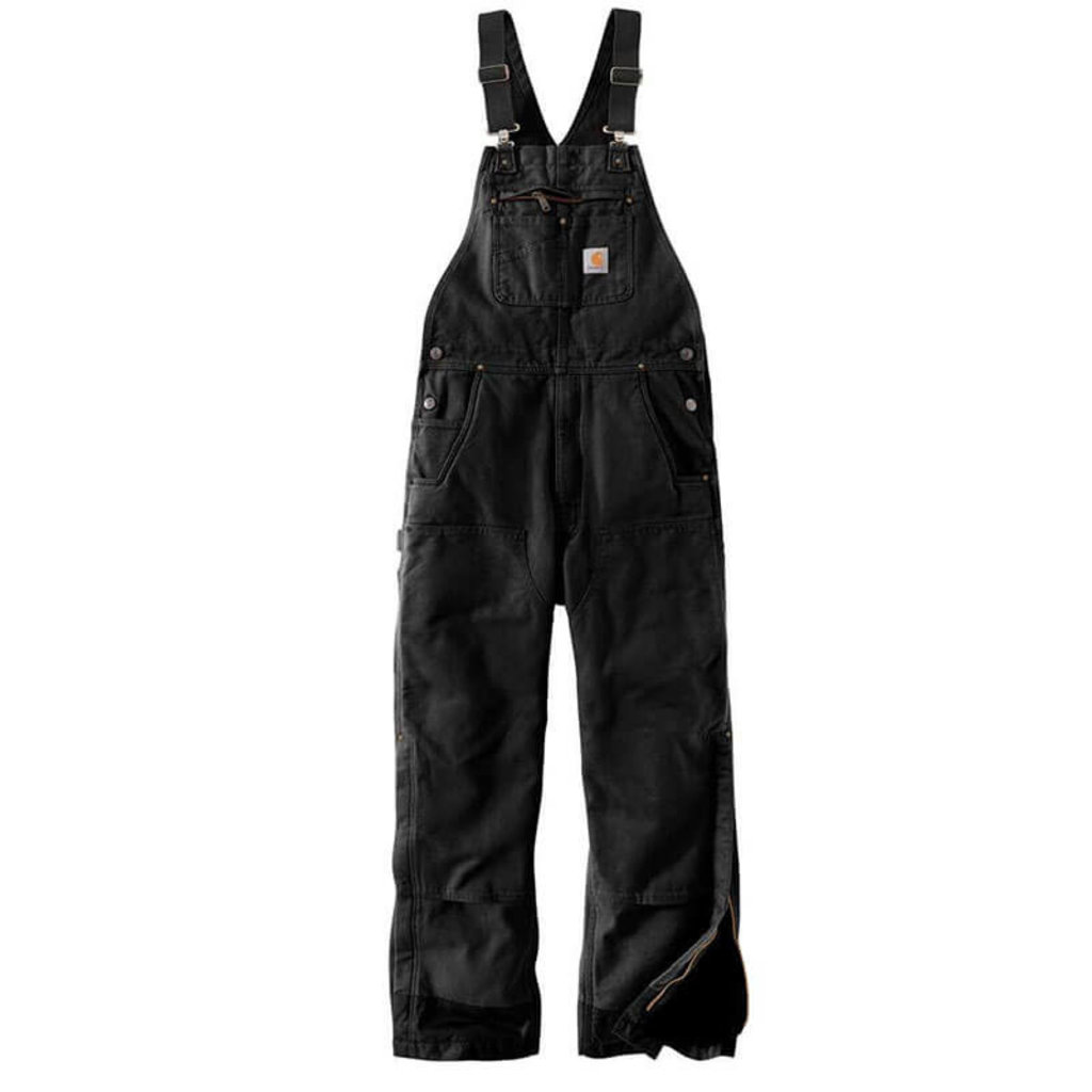 Carhartt 104031 - Loose Fit Washed Duck Insualted Bib Overalls