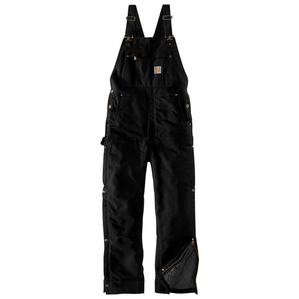 Carhartt 104393 - Loose Fit Firm Duck Insulated Bib Overalls