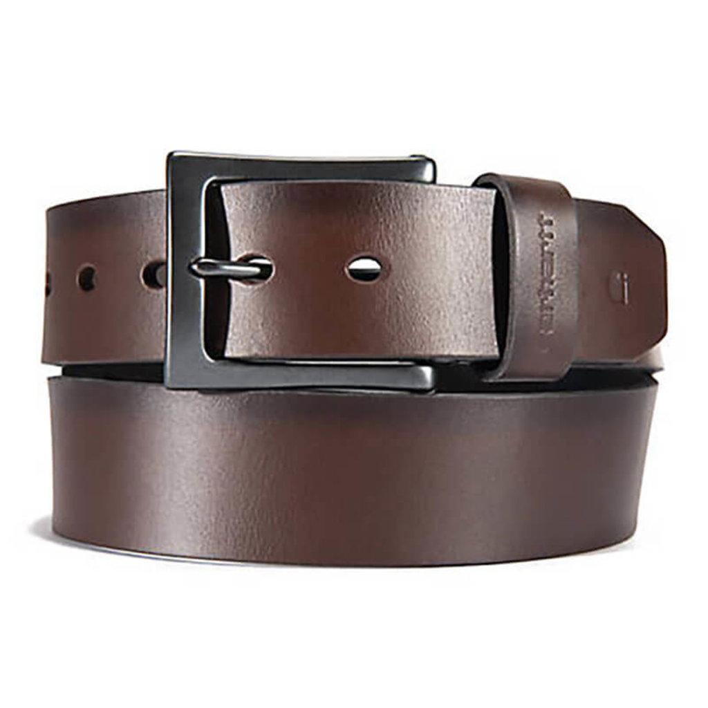Carhartt Burnished Leather  Box Buckle Belt