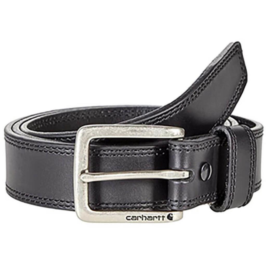 Carhartt Leather Engraved Buckle Belt