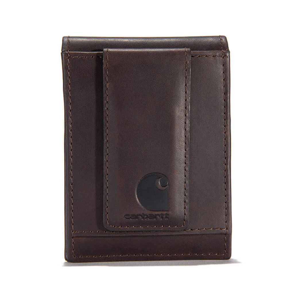Carhartt Oil Tan Leather Front Pocket Wallet