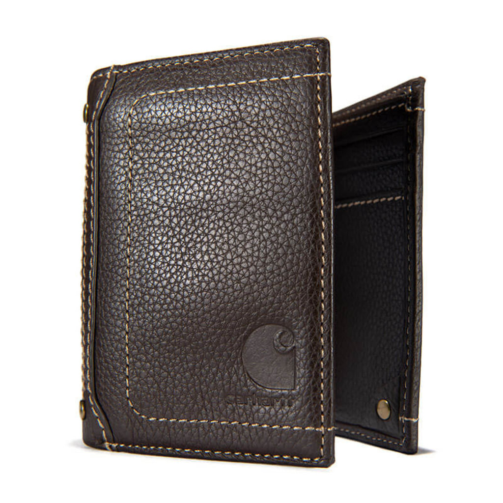 Carhartt Pebble Leather Trifold Wallet