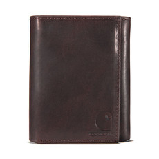 Carhartt Oil Tan Leather Trifold Wallet