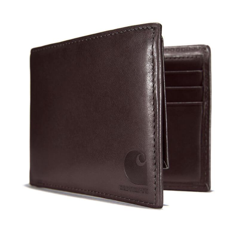 Carhartt Oil Tan Leather Passcase Wallet