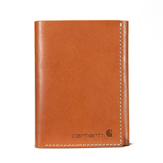 Carhartt Buff Tanned Leather Rough Cut Trifold