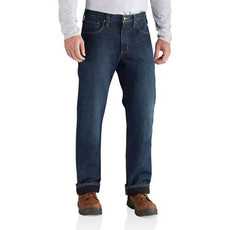 Carhartt 102803 - Relaxed Fit Holter Jean Fleece Lined