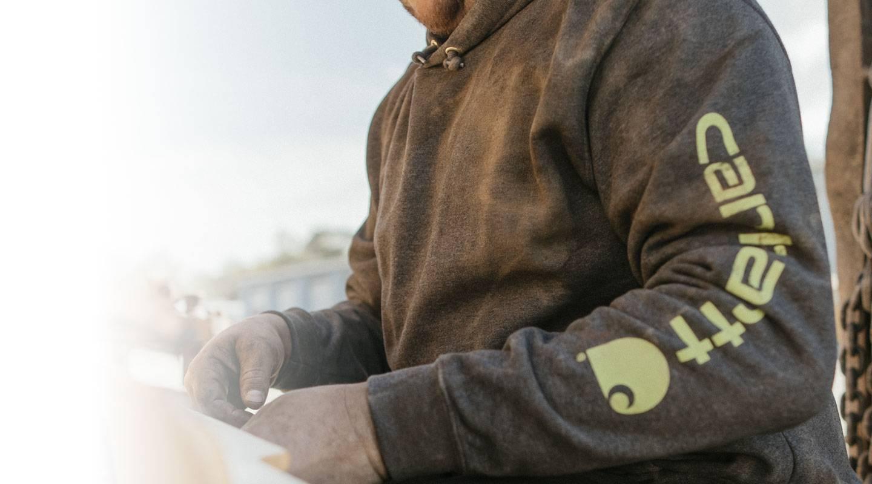 Carhartt's Signature Midweight Graphic Sweatshirt