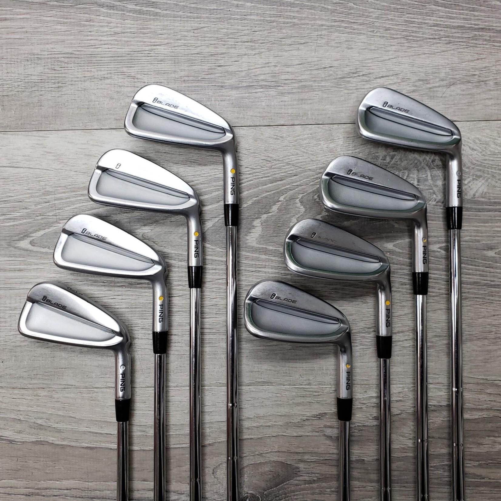 PING PING iBLADE Iron Set 3-PW Dynamic Gold X100 Steel (RH)