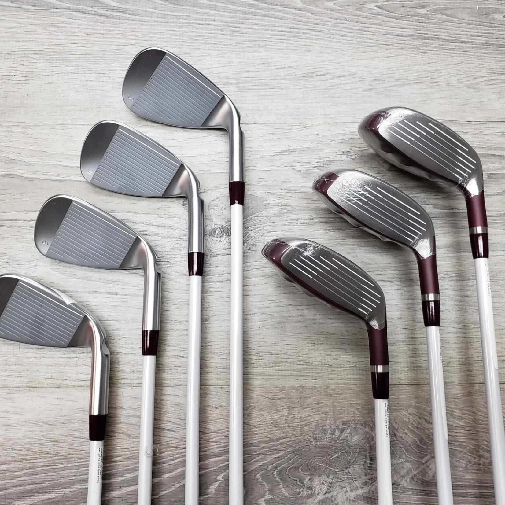 PING GLE 5,6,7 Hybrid 8-SW Iron Set Womens (LH)