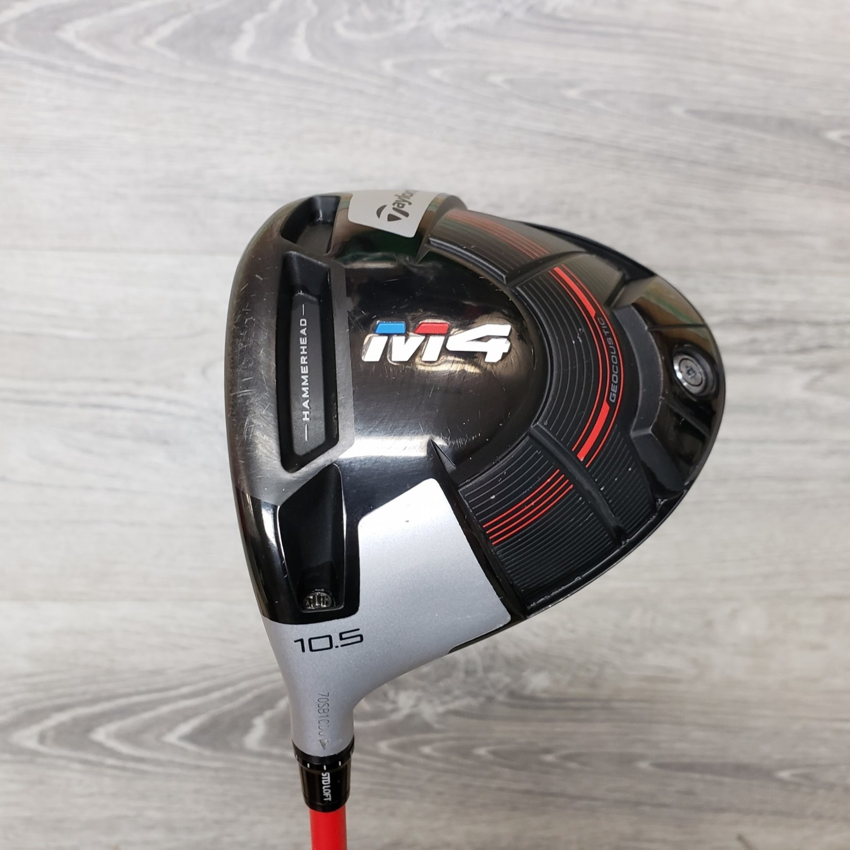 TaylorMade TaylorMade M4 Driver 10.5* HZRDUS Red X Stiff (LH)