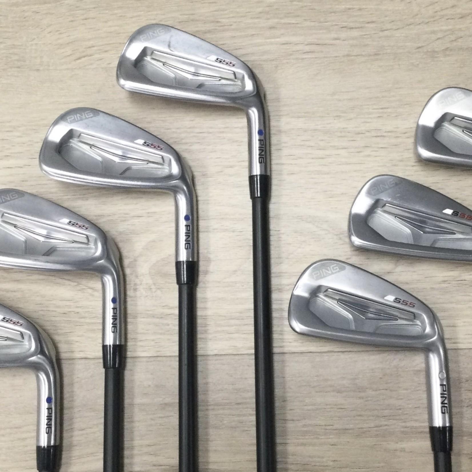 PING PING S55 4-PW Iron Set Graphite Regular (RH)