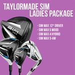 (Demo) Ladies TaylorMade SIM Package Set (RH)