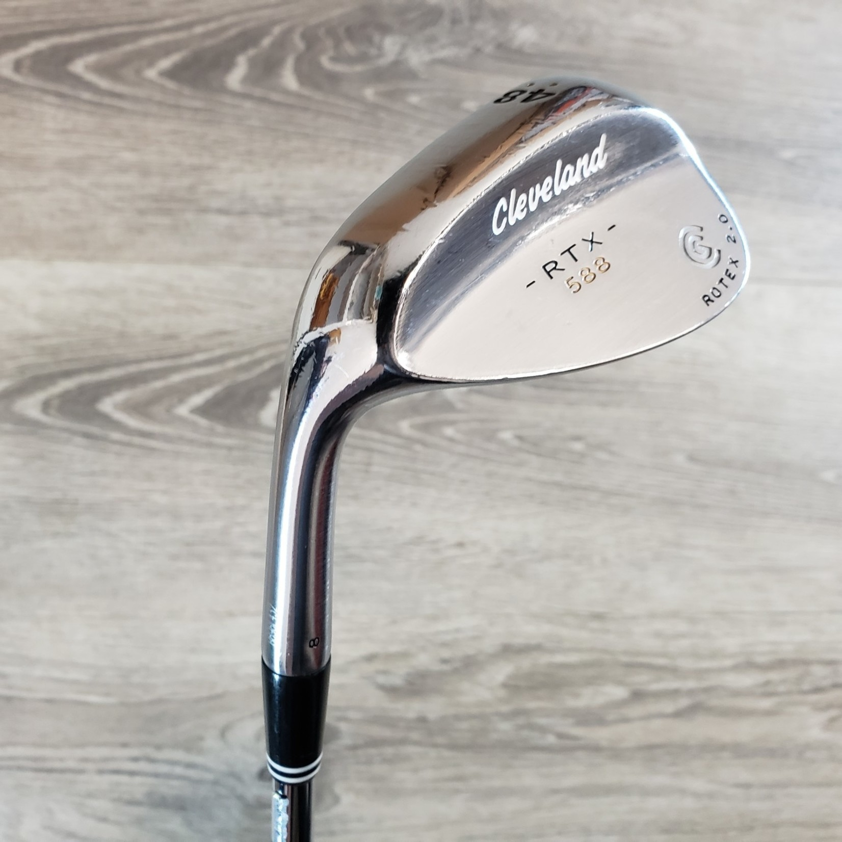 Cleveland (Demo) Cleveland RTX 588 Rotex 2.0 Dynamic Gold Wedge (LH)