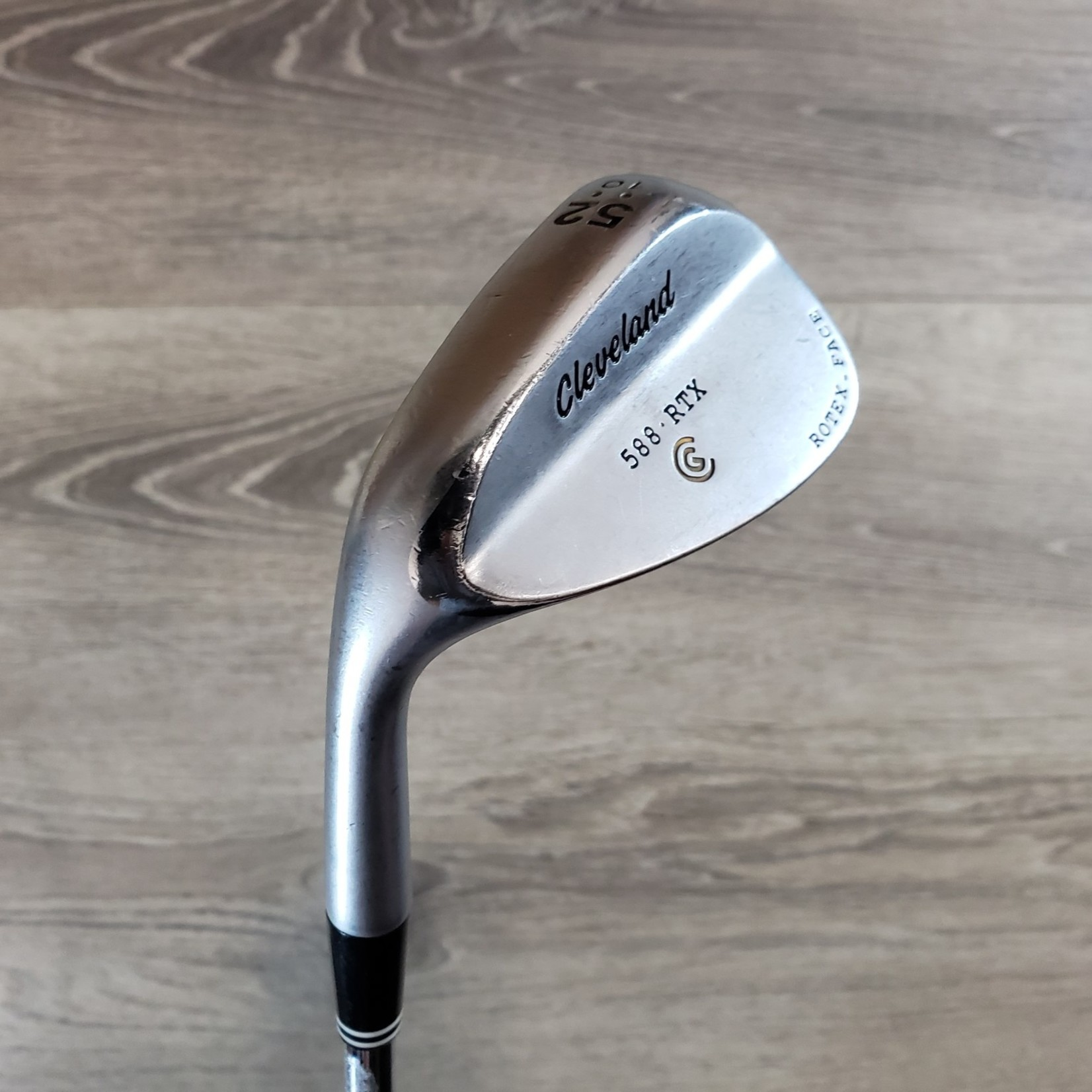 Cleveland Cleveland 588 RTX 52* 10 Dynamic Gold Wedge (LH)