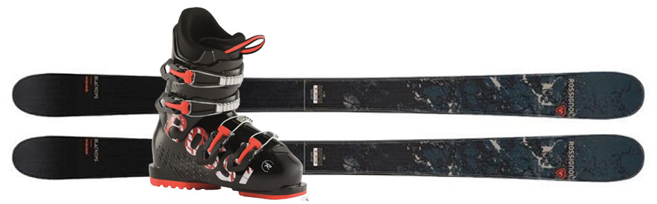 Junior Twin Tips Ski Lease Package