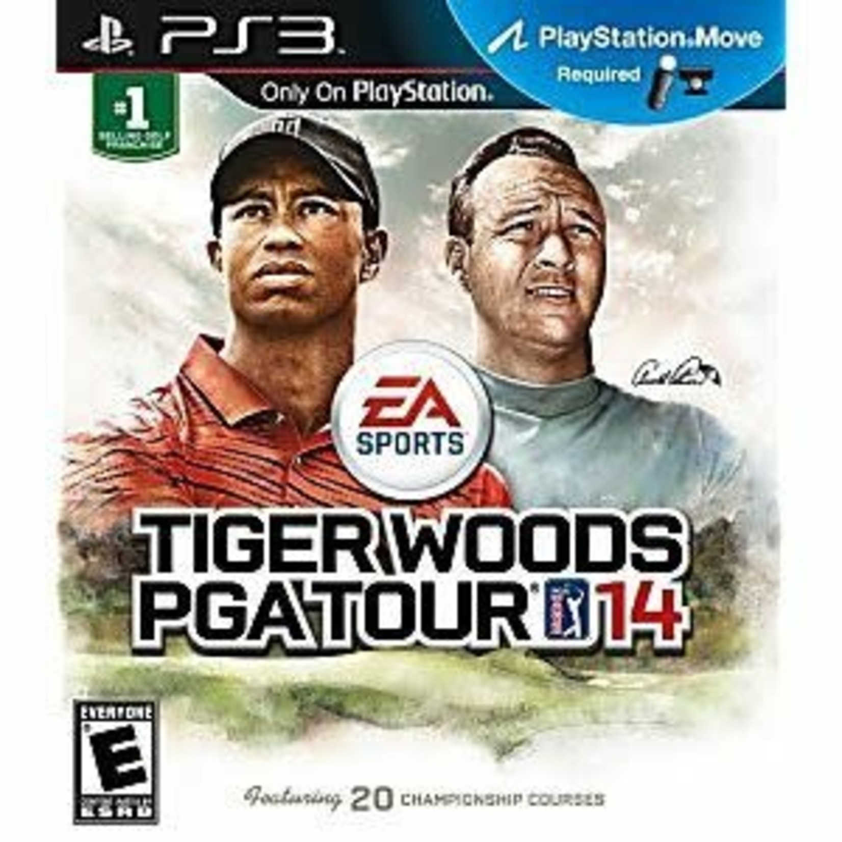 PS3U-Tiger Woods PGA Tour 14