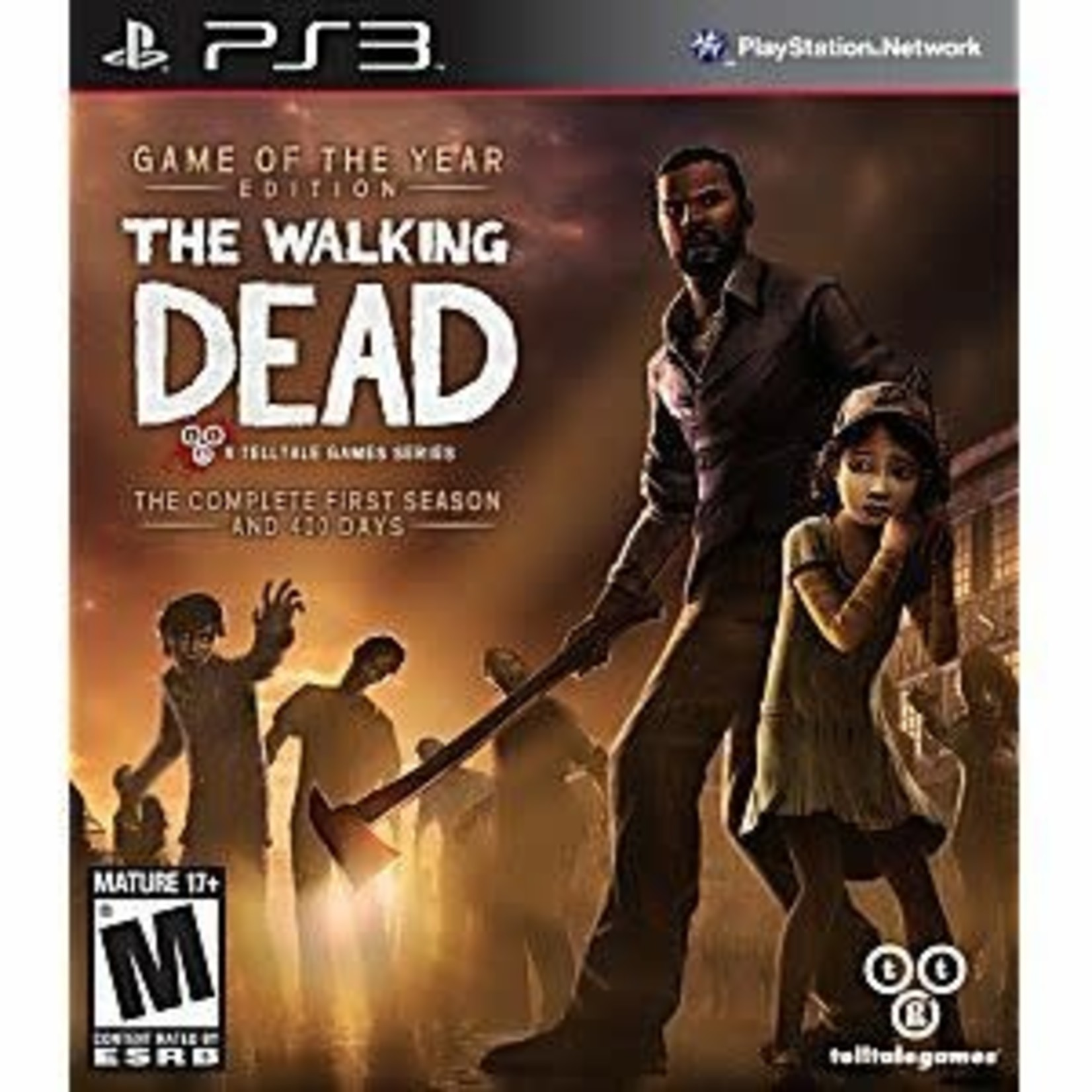 PS3U-Walking Dead Game of the Year Edition