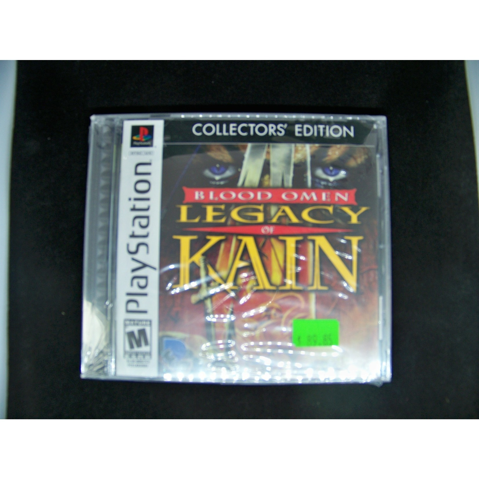 PS1-Blood Omen Legacy of Kain Collector's Edition