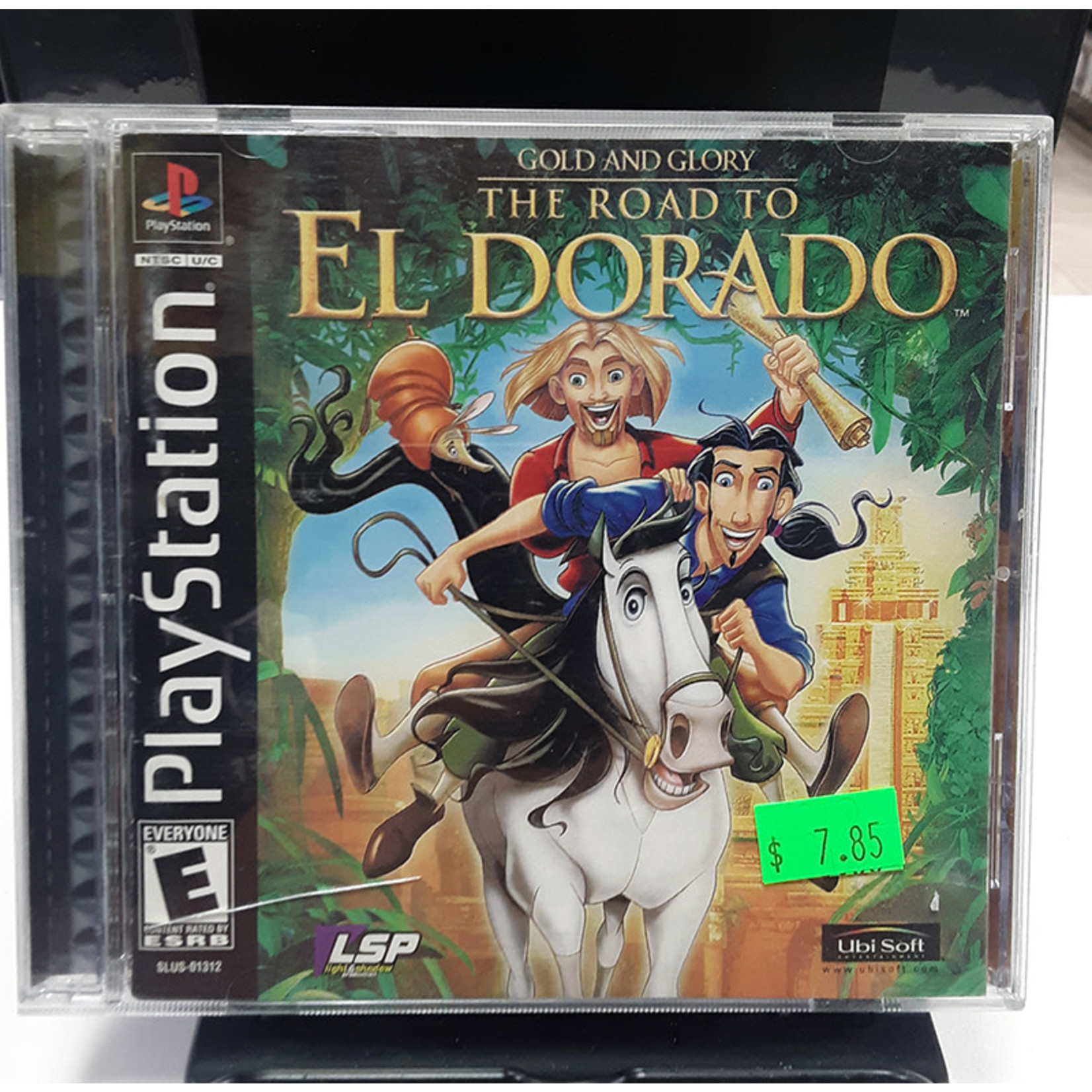 ps1u-Gold and Glory The Road to El Dorado