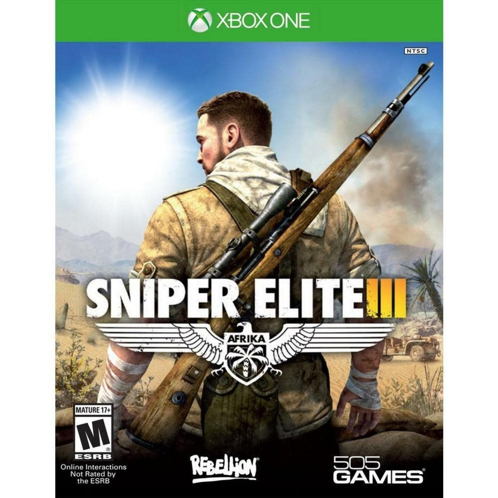 XB1U-Sniper Elite III