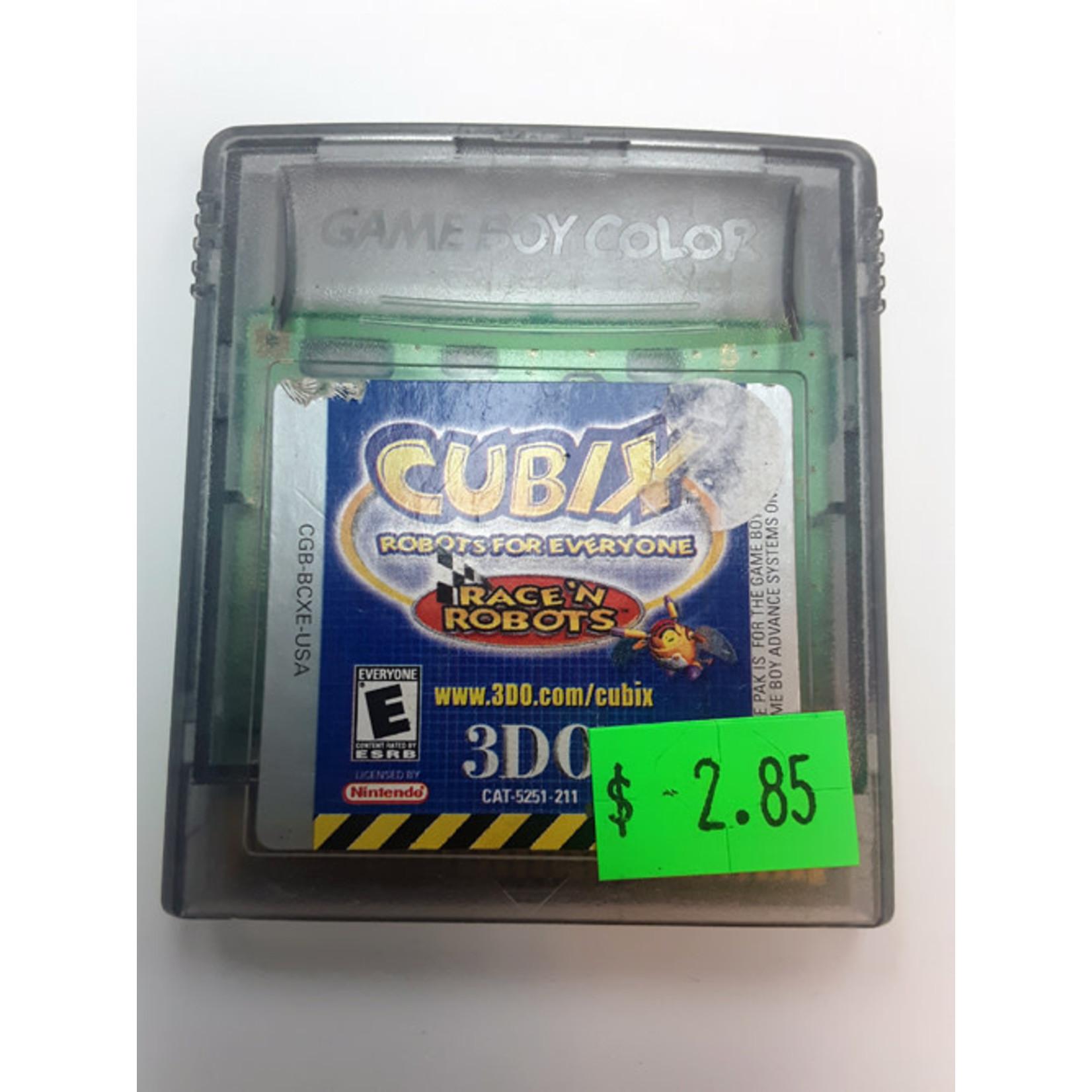 GBCU-Cubix robots for everyone race (cartridge)