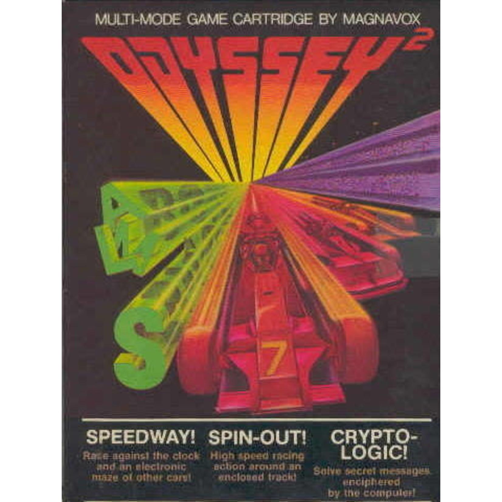 OD2U-Speedway & Spinout & Crypto-Logic (Boxed)