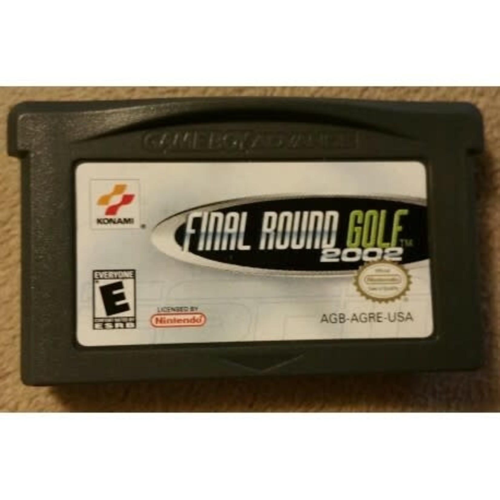 GBAU-ESPN Final Round Golf 2002