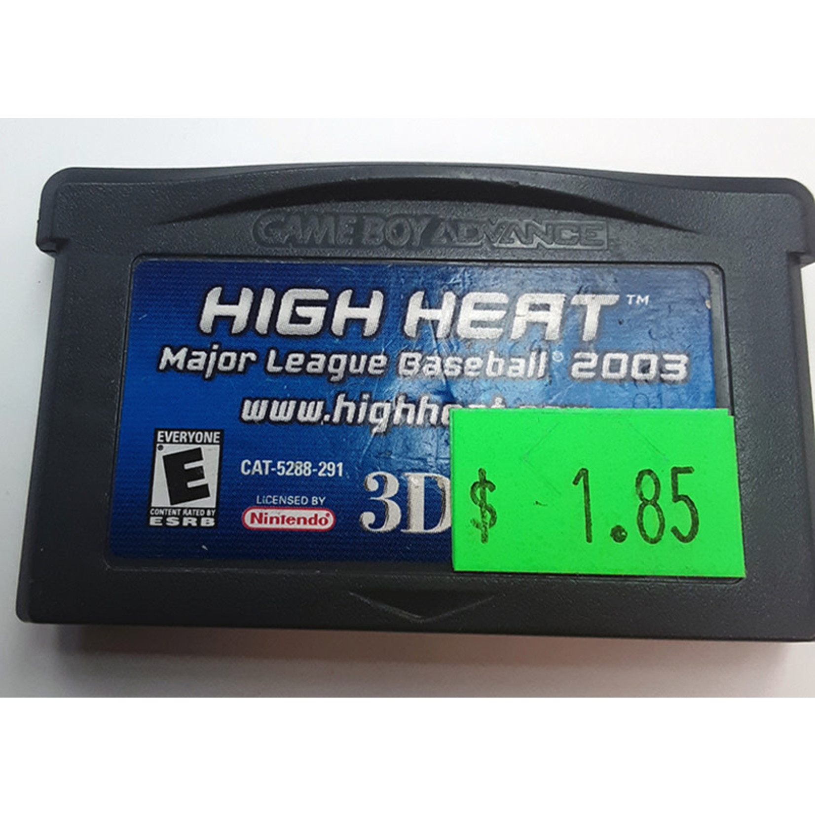 GBAu-High Heat Major League Baseball 2003 (cartridge)