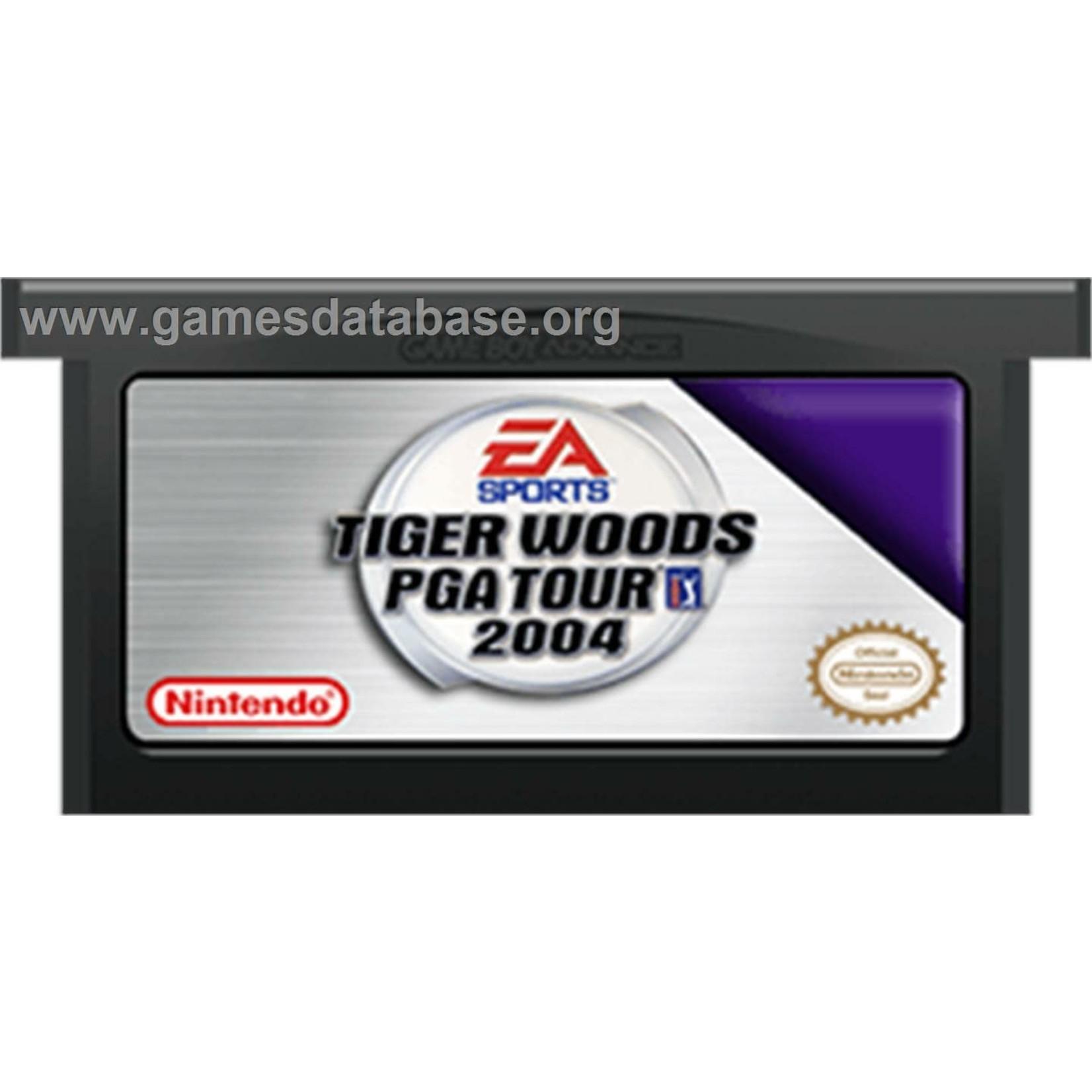 GBAU-Tiger Woods 2004 (CARTRIDGE)