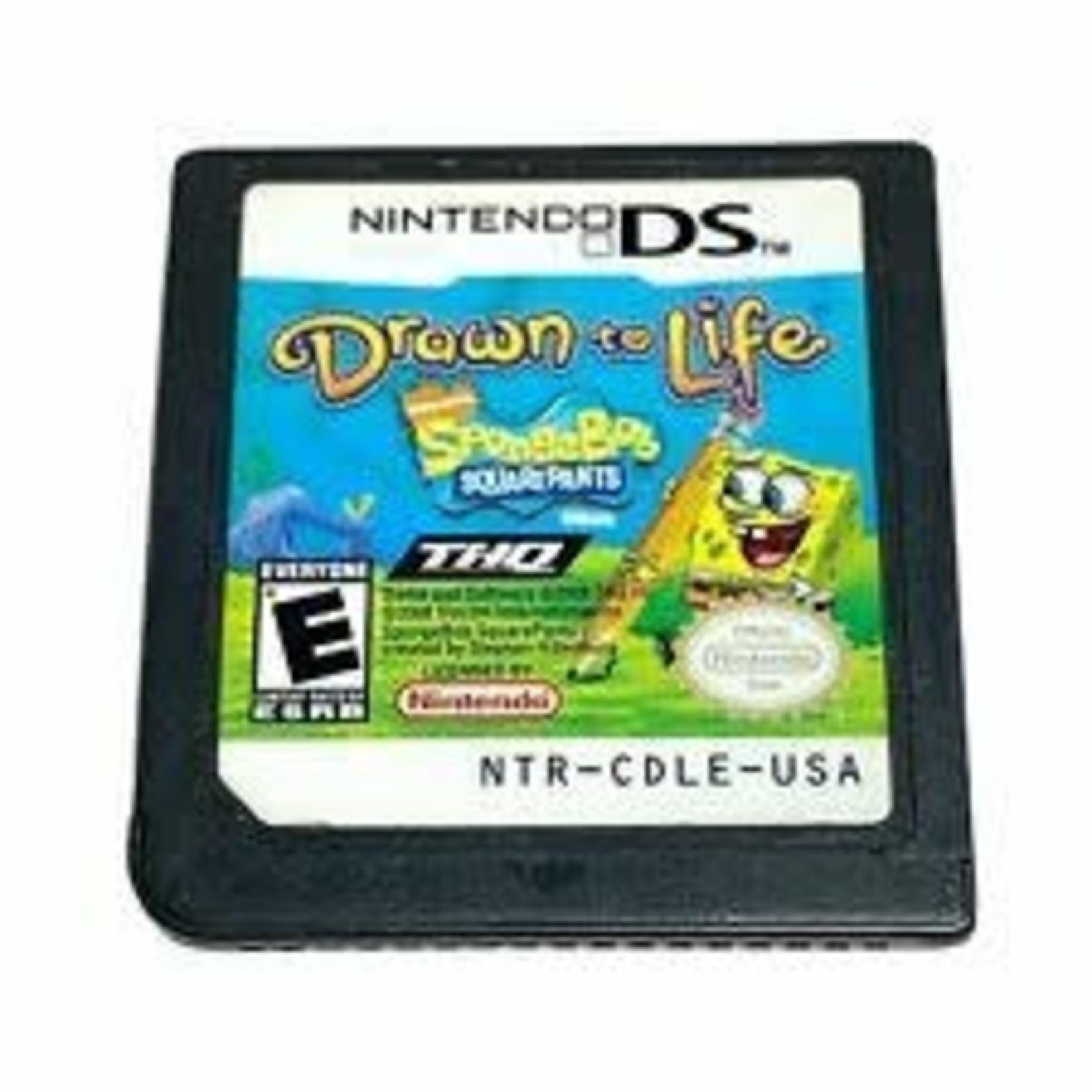 DSU-Drawn to Life Spongebob Squarepants (chip only)