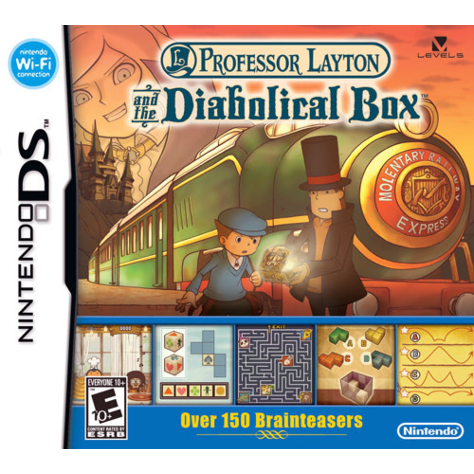 DS-PROFESSOR LAYTON AND THE DIABOLICAL BOX